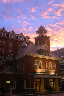 Kendall Hotel at Sunset